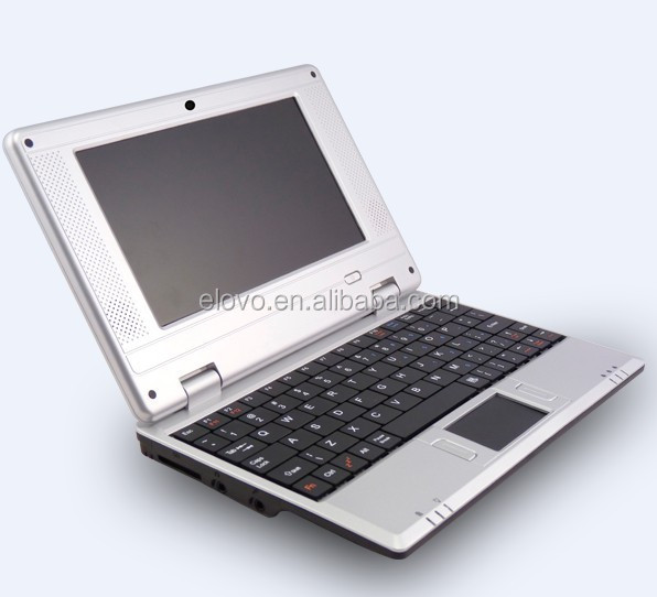 7inch Android mini OEM logo netbook laptop for cute gift