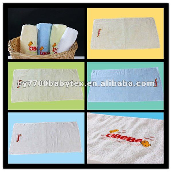 Unique Embroidered 100% Cotton Cloth Terry Bath Towel