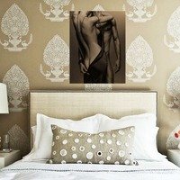 DIY Diamond Painting Mosaic Needlework Embroidery English Sexy Pictures With Rhinestones