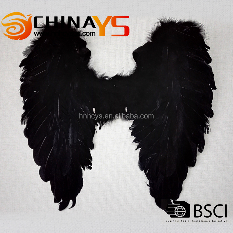 New arrival 55x50cm Best-sale adult club performance costume inflatable YS8062 Black devil wings on promotion