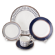 High Quality Fashional Luxury Royal Bone China Ceramic Dinnerware Plate dinner set for Hotel, Restaurant, Wedding