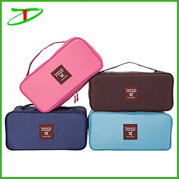 new arrival waterproof travel bra bag, eco friendly travel organizer bag