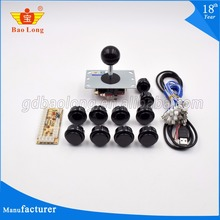Factory direct wholesale pandora box game pcb, wire, 30mm push button and joystick to build up arcade machine arcade parts kit