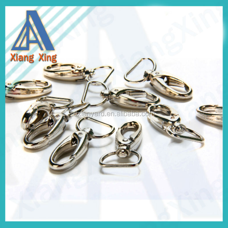standard swivel carabiner <strong>hook</strong> for lanyards and bags wholesale in China
