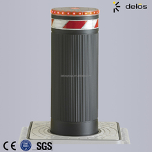 street security steel pipe hydraulic bollards