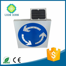 traffic warning signal light type LED solar road sign