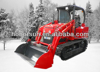 High efficiency of crawler loader/3tons/mini crawler loader