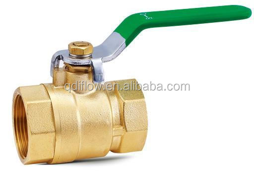 API6D Floating Type 3 Inch Brass Ball Valve with NPT Threaded