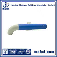 Plastic PVC aluminum wall indoor metal handrails for stairs