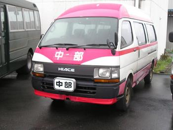 1992 Toyota Hiace Commuter 15seater Diesel manual Japanese used bus