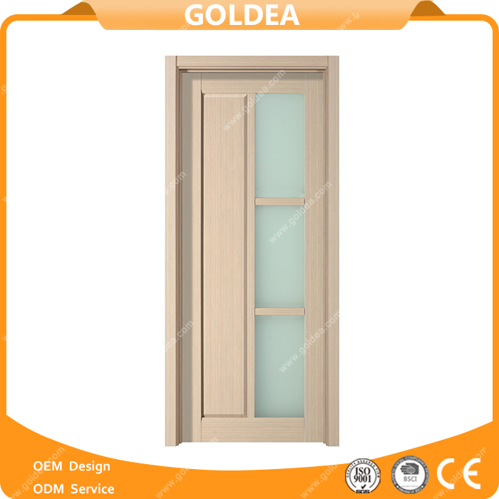 Frameless Tempered Wooden Glass Doors Made In China
