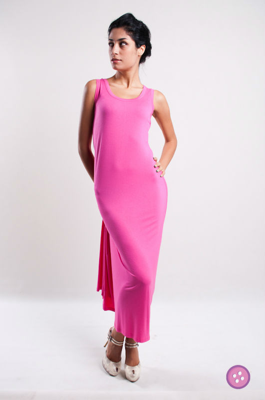2013 Sleeveless RACER BACK Long Maxi Dress FM0159