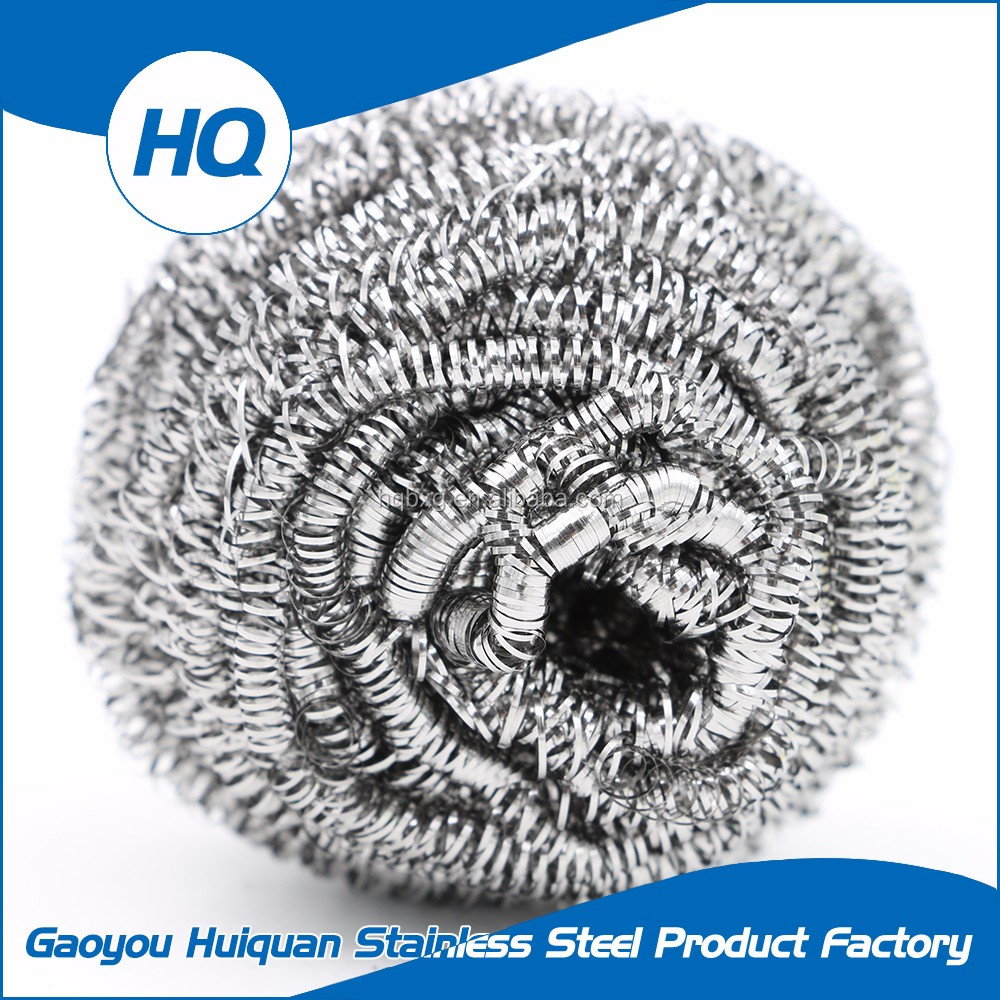 New design density galvanized steel wool for household cleaning