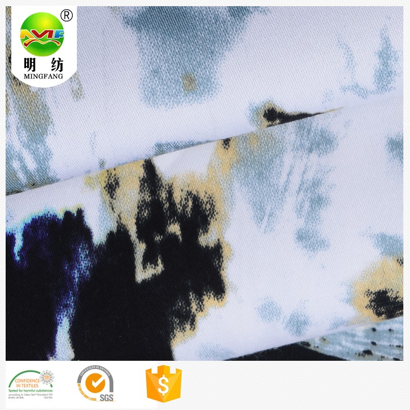 laminated cotton fabric printed organic korean cotton percale fabric