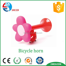 2015 lovely kids plastic flower bike air horn
