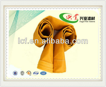 P84 Needle Punched Felt Filter Bag for cement plant