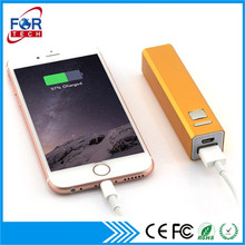 Promotion Electronical Items 18650 Battery Charger Party Emergency Power Bank 2600 mAh Gift