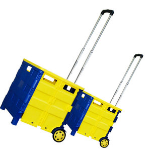 Plastic Seat Heavy Duty Wheel Rolling Bag Aluminum Basket Food Folding Shopping Trolley Cart