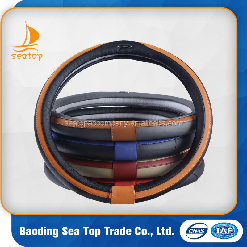high quality cheap price universal fit silicon car steering wheel cover