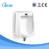 Made in China white ceramic sanitary fitting wc men's urinal sensor price