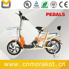 48V 350W 14/16/18 inch cheap Electric Bike / NO folding Electric Bicycle Simple city two seat -- LS5-3