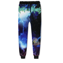 New European and American Cute Cartoon Trousers 3d Printed Pants Male's Joggers