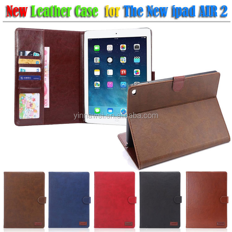 unique and protective for ipad leather case, Leather Case For ipad Air 2