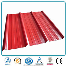galvanised corrugated sheet/roofing material metal/roofing profile
