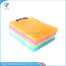 A4 Plastic File case Box File Clipboard