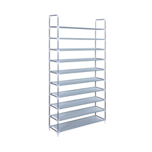 PN 10 Tiers Shoe Rack 50 Pairs Non-woven Fabric Shoe Tower Storage Organizer Cabinet Waterproof Foldable Shoe Rack