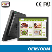 all in one computer pc touch screen CTPC15 Intel Atom Dual Core D2550 with metal shell