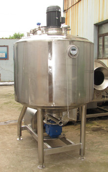 500L emulsifying tank high shear emulsify tank