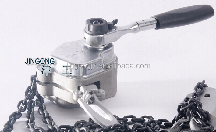 1.5T aluminum alloy chain lever block / hoist with competitive price ARK series