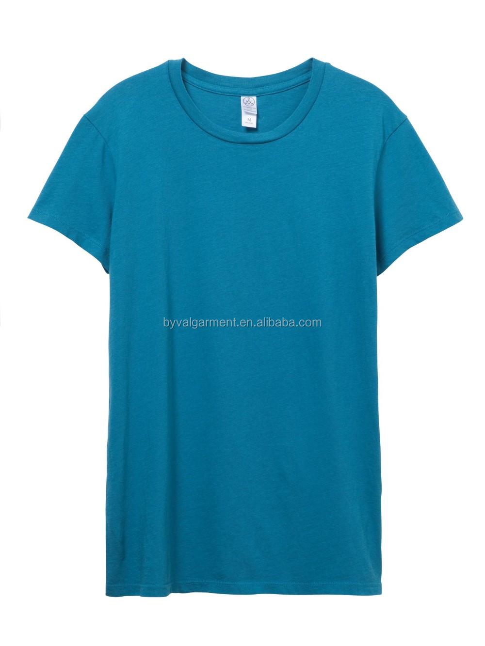 100% organic cotton Bulk plain t-shirts for women (11).jpg