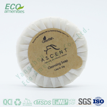 circle white paper packing soap sheets is soap