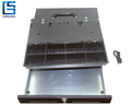 Metal cash drawer money box for pos system/removable and adjustable cash tray and coin tray