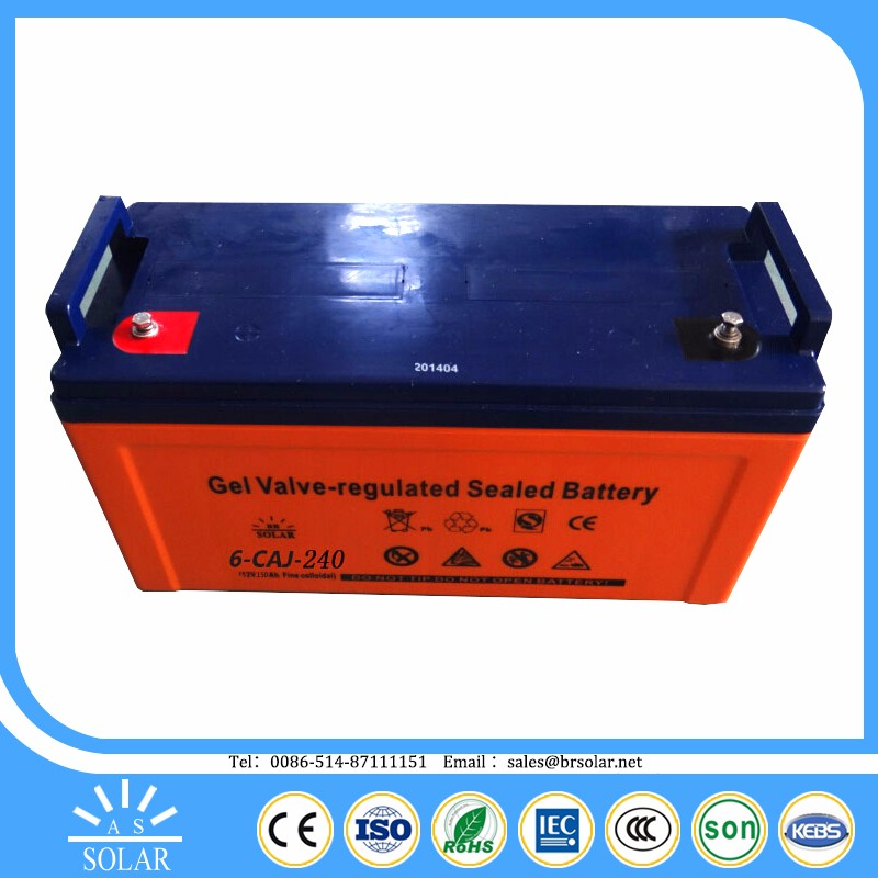 with motion sensor round shape 12 volt deep cycle battery