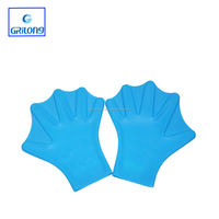 Swim pool of cheap silicone soft Swimming Hand Paddles