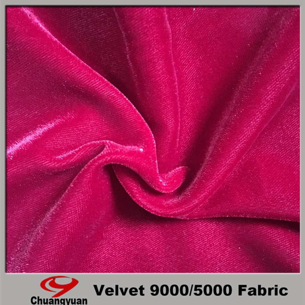 micro velvet 9000 warp knitting Fabric popular in Turkey from China factory