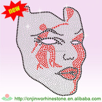 Delta Sigma Theta Rhinestone Transfer Wholesale, Iron On Heat Transfer For T-shirt DST (20)
