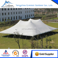 big outdoor canopy wedding party tent