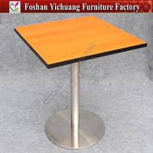 Modern Aluminium folding table and chair restaurant YC-T26-3