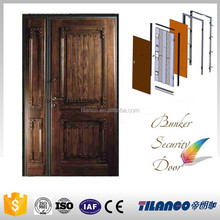 High strength factory supply raw solid wood door price