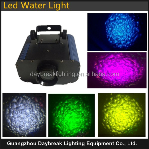 led stage water effect light waves ripple effect flow led water , 30w / 50w 5colors/single color Auto Run or Manual