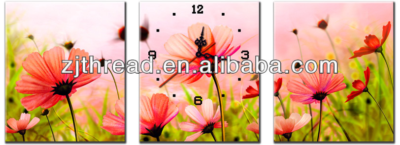 3D 5D Flower cross stitch sets for DIY Home decoration with COTTON thread and Aida fabric