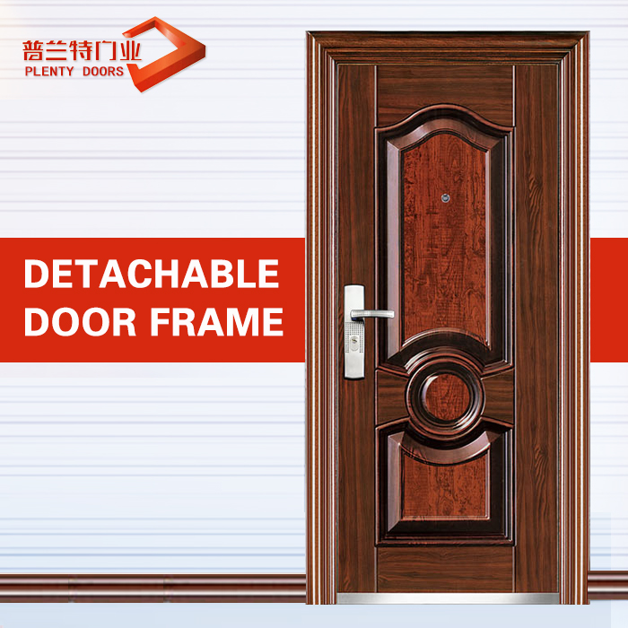 Safety simple india main gate door designs pictures in metal