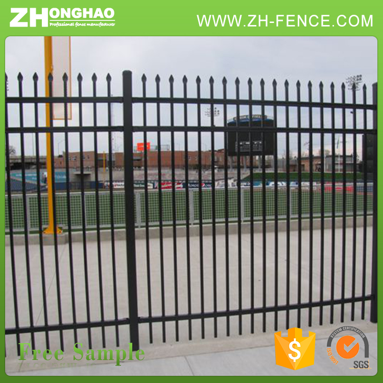 Garden Edge Wrought Iron Fence
