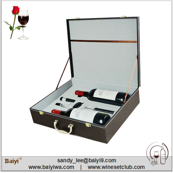 High Quality Luxury Wooden Wine Boxes Wholesale