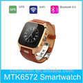 2015 Popular GPS WIFI Bluetooth Android4.4 GSM 3G wholesale phone watch