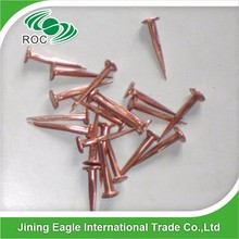 aluminium copper brass tack nail